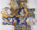 Museo Regionale della Ceramica: il pavimento di San Francesco