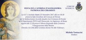 Invito S Caterina Deruta