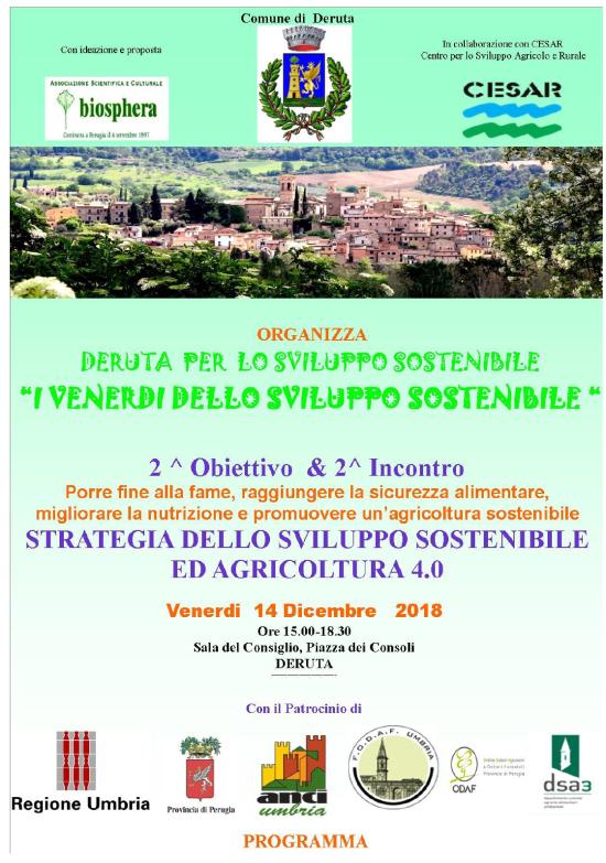 Deruta per lo sviluppo sostenibile 2 conferenza